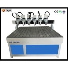 Máquina de Woodworking do CNC do Multi-Eixo da eficiência elevada