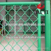Máquina automática de la cerca del acoplamiento de cadena / cerca decorativa del acoplamiento de cadena / cerca de enlace de cadena usada para la fábrica de la venta