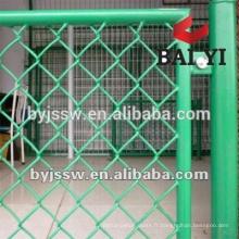 Machine automatique de clôture de maillon de chaîne / barrière décorative de lien de chaîne / barrière utilisée de lien de chaîne pour l'usine de vente