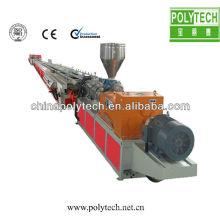 Linha de extrusão de perfil de porta de PVC