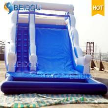 Fábrica de encargo al aire libre de encargo inflable gigante adulto de agua de la diapositiva