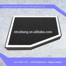 Filtro de ar da cabine do carbono do filtro de ar do photocatalyst do nano Tio2 da fabricação