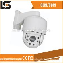 El proveedor de China a presión el CCTV de la vivienda de la cámara de seguridad de PTZ IP65 de la fundición