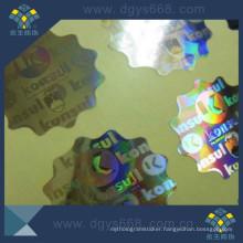 Security Anti-Fake Hologram Laser Sticker Custom Printing in China