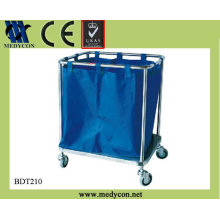 BDT210 cheap medical waste trolley cart for dirty clothes for sale