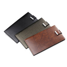 Anti Theft Echtes Leder Thin Card Wallet Holder