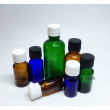 30ml 1oz Clear Amber Cobalt Blue Glass Dropper Bottle for E Liquid