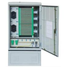 96 Core Telecom Luar Ruangan Fiber Optic Cross Cabinet