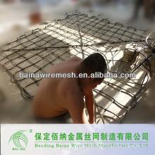 Bolsas de malla de alambre galvanizado para la construcción