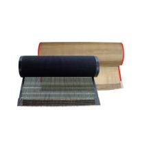 Resistencia de alta temperatura ptfe teflón recubierto fibra de vidrio malla secador de cinturón