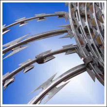 Hot-Dipped galvanizado Razor Barbed Wire