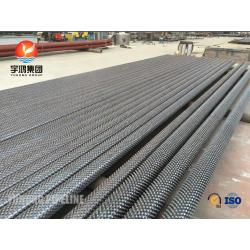 SA335 P11 / P22 / P91 Studed Tubes For Chemical industry