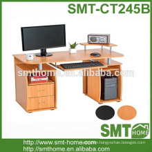 2017 pretty fashion computer table wooden type with cheap price