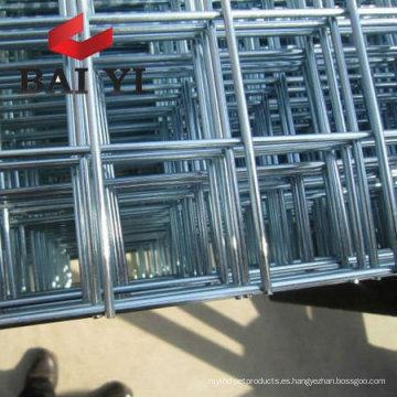 Panel de malla soldada de alambre galvanizado y recubierto de PVC (fabricante)