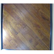 Chão de madeira de teca asiática (chinesa); Revestimento de madeira maciça Robinia