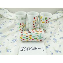 Taza de porcelana promocional de Navidad con precio barato