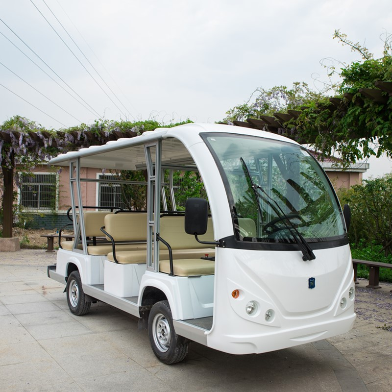 gas powered 11 passenger shuttle bus