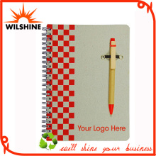 Good Quality Paper Binding Notebook with Paper Pen (SNB109)