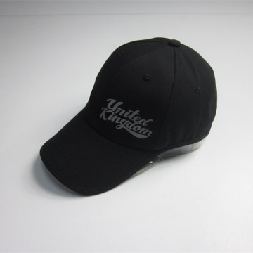 Black Print Flexfit Sports Cap
