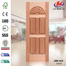 Certificate Natural Sapelli Wood Veneer Door Skin