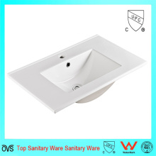 Made in China Bathroom Ceramic Cabinet Basin