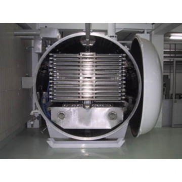 Vacuum freeze drying lyophiliser for food