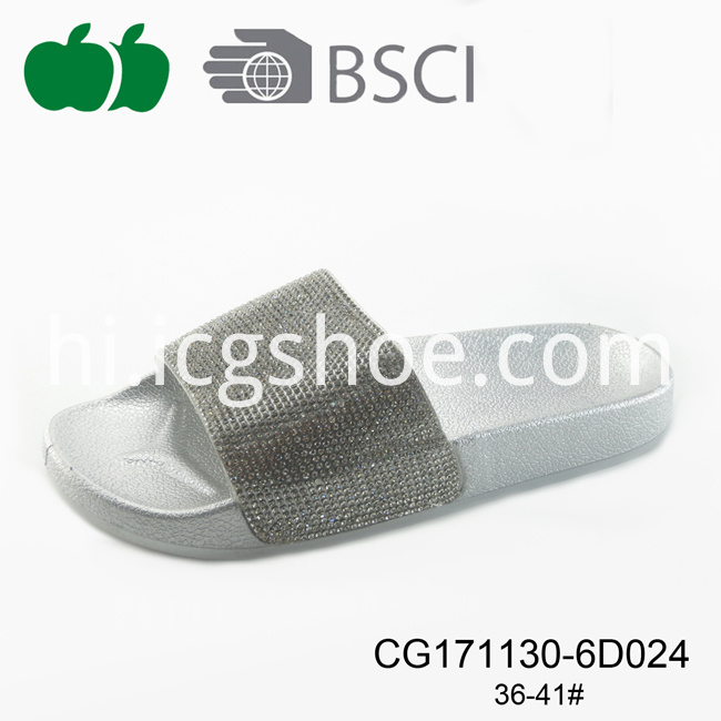 new design plastic slippers