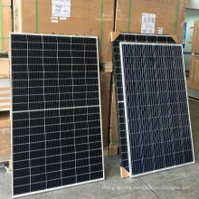 340W/ Trina Class B 9BB/monocrystalline half cell /black frame white /1 pallet 10 panels/ solar renew panel energy cell