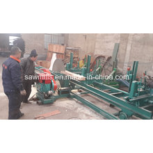 Wood Circular Saw with Carriage Wood Cutting Sawmill