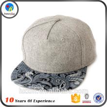 custom 5 panel plain snapback hats wholesale