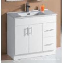 Белая глянцевая тканная тряпочка для ванных комнат (UV6027-900W)