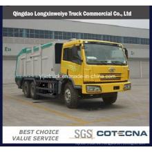 Faw 4X2 Light Waste Limpieza de camiones de basura
