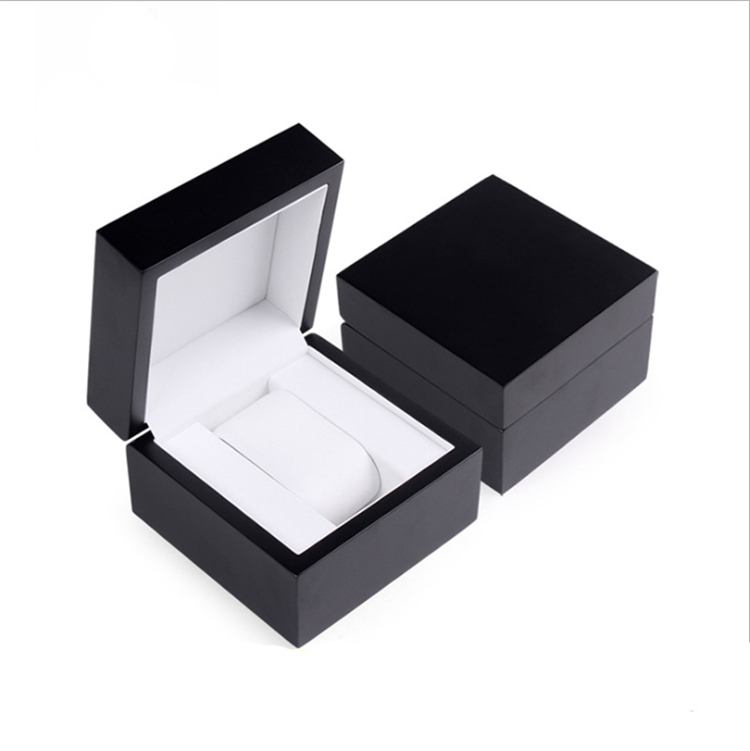 Wholesale Concise Style Square Wood Watch Box Luxury