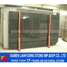 High Quality Black Galaxy Granite Slab for Countertop