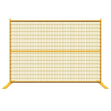 China Supplier Temporary Fence  PVC Coated Galvanized Portable Steel Removable Barrier
