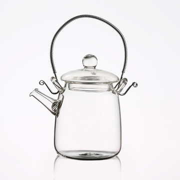 glass bottle borosilicate glass container china tea set glass hotel kettle