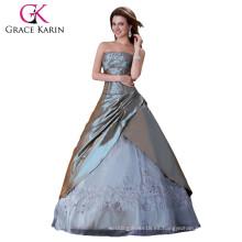 Vestido de novia gris sexy vestido de novia CL4522