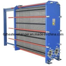 Intercambiador de calor de placas para refrigeración de aceite a agua (igual a M15B / M15M)