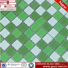 Padrões de mosaico de vidro barato para a telha da piscina feita na china