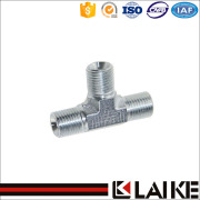Bsp Male 60 Cone Tee Tube Fitting (AB)