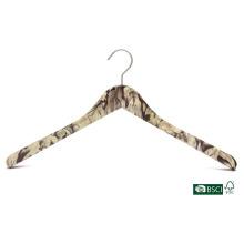 Классическая антискользящая деревянная вешалка для рубашек