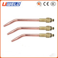 euro type welding Cable Connector/ red cable connector