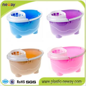 Novo Design Squeeze Plastic Mop Bucket com Rodas