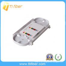 ABS 12 porta fibra óptica splice bandeja