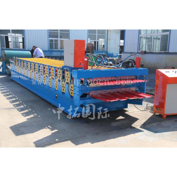 ZT-004-037 Double Layer Atap Panel Roll Forming Machine