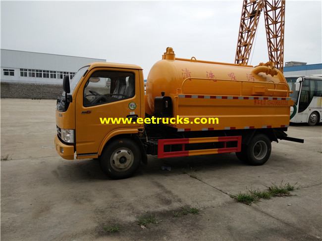 2.5 CBM Sewer Cleaning Trucks