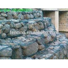 ventas calientes Stone Gabion Cage / Gabion Wall