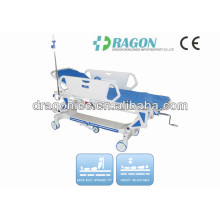 DW-TS002 Hospital Rise-and-Fall Manual Luxurious Transfer Stretcher for Operating Room