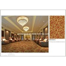 Inkjet de alta calidad de pared a pared de alfombra de hotel de poliamida