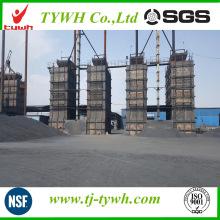 Precio graneado de alta calidad de la planta del coque de petróleo del fabricante